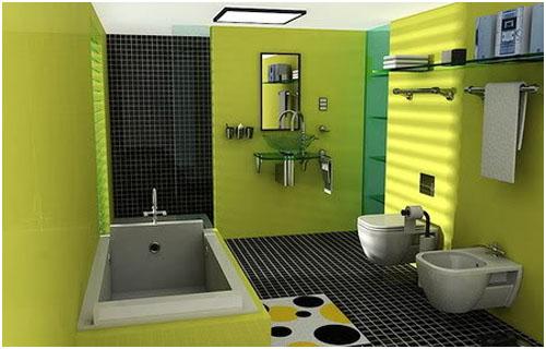 Small Bathroom Colour Choice
