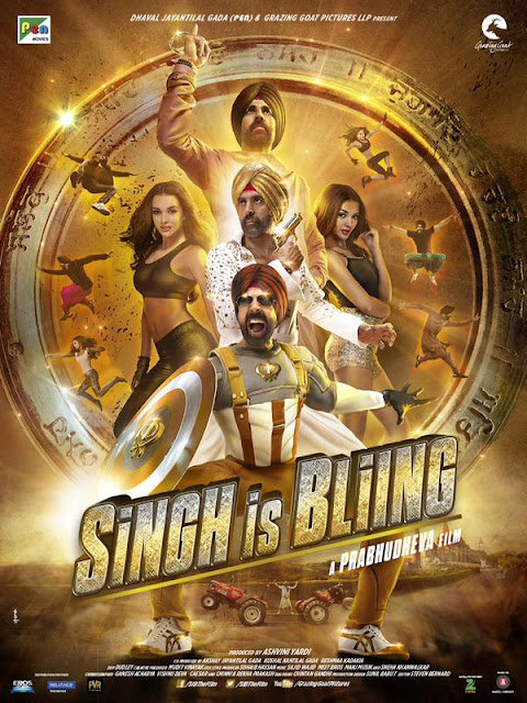 Singh is Bling poster
