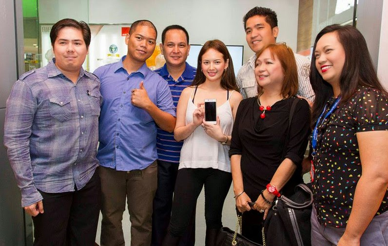 Gionee Philippines, Ellen Adarna, Gionee SM Santa Rosa Laguna