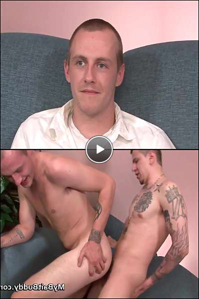 straight guy with gay video