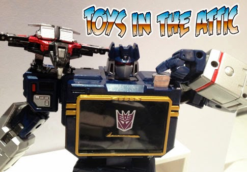 transformers Masterpiece MP-13 Soundwave recensione