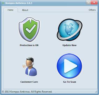 Kompas Antivirus 2.0.3 Software Free Download