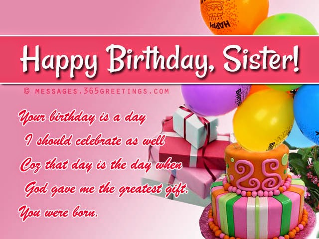 Birthday Wishes Elder Sister
