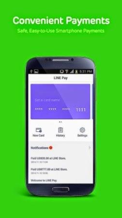 Aplikasi Komunikasi LINE Terbaru APK Android