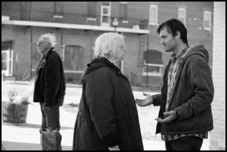 Bruce Dern, June Squibb y Will Forte en Nebraska (Alexander Payne, 2013)