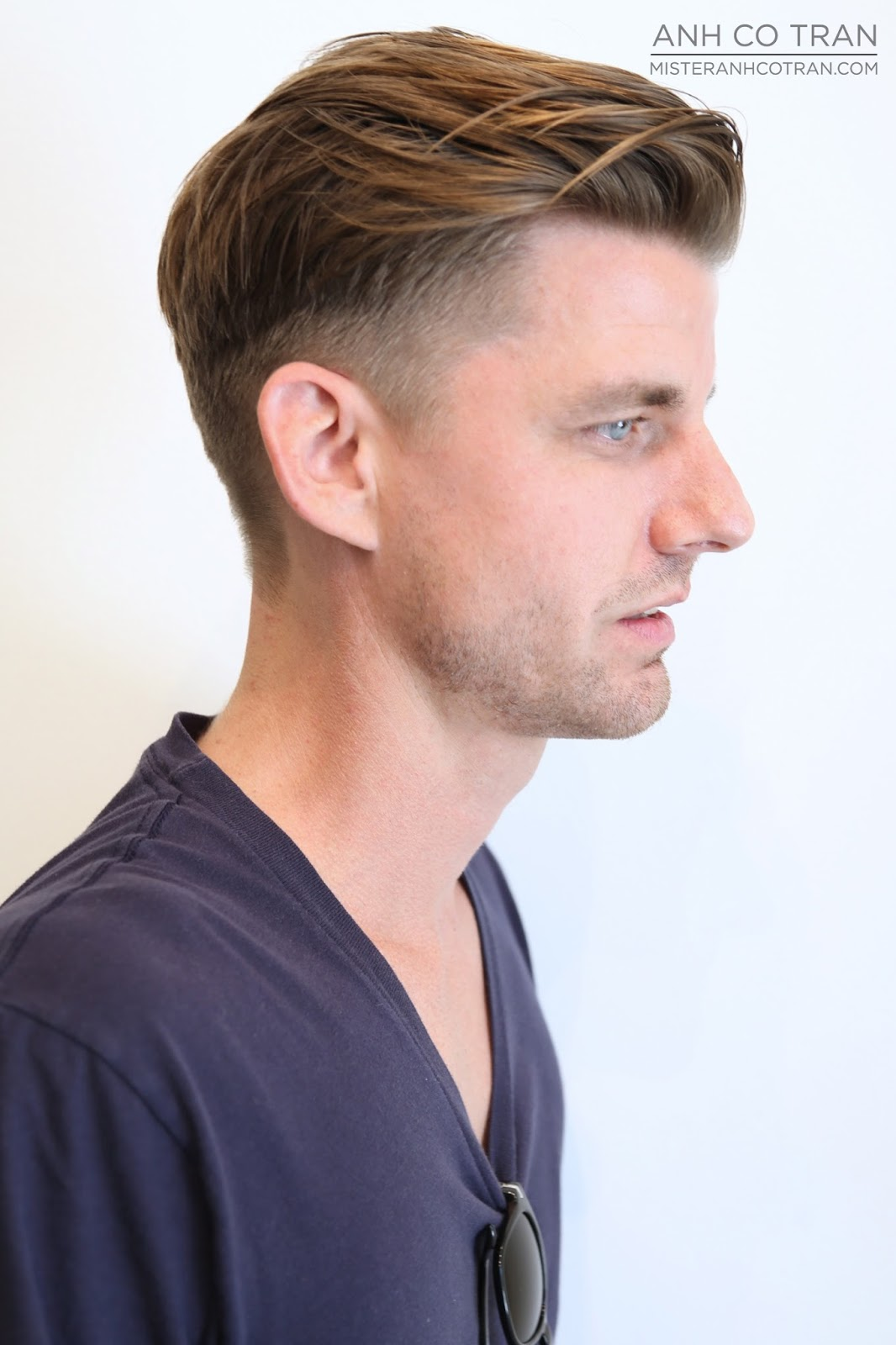 cocktail party hairstyles : LOS ANGELES: BRIAN: CUT + STYLE: CLASSIC MENS CLEAN UP -