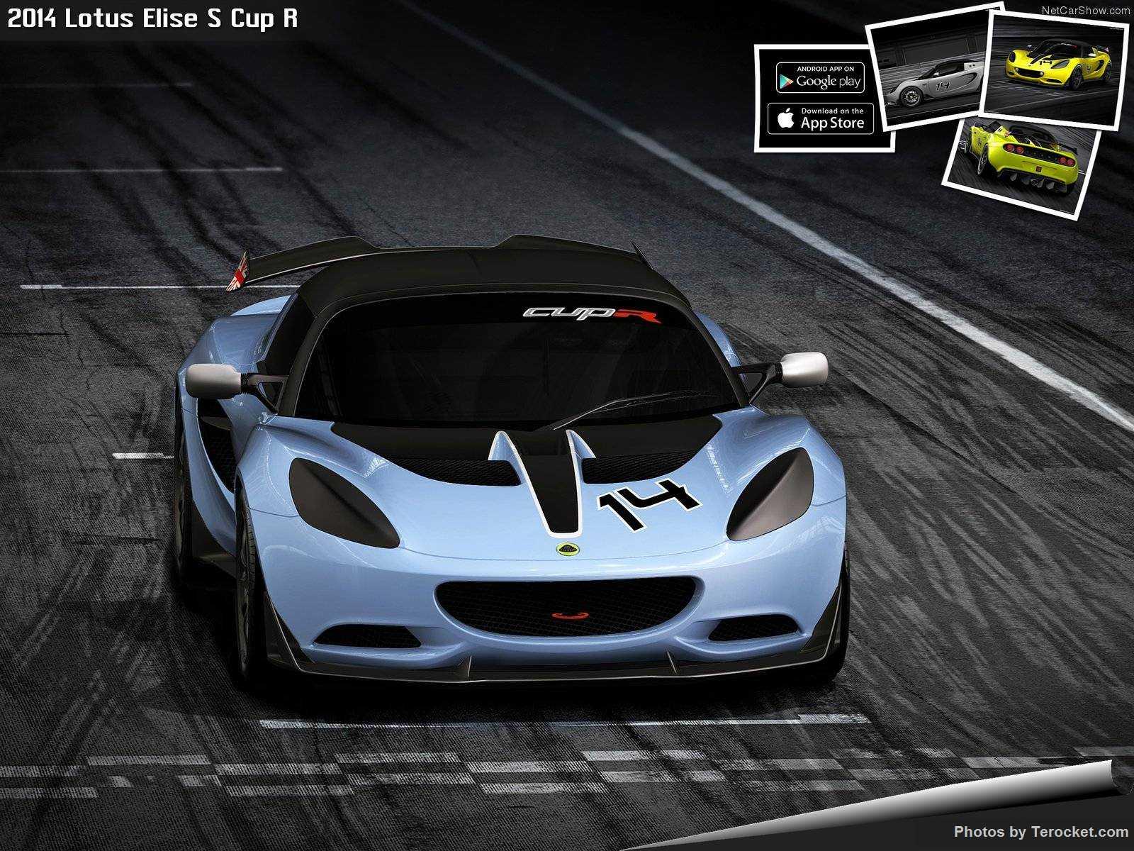 Hình ảnh siêu xe Lotus Elise S Cup R 2014 & nội ngoại thất