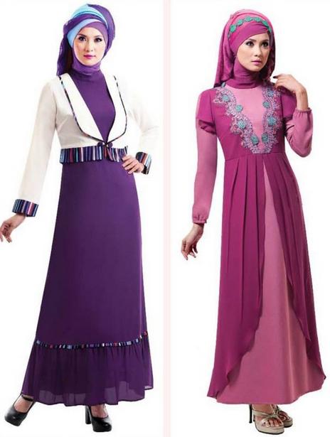 Trend Terbaru Baju Gamis Remaja Fashion Style 2015 Trend Model Dan Gaya Busana
