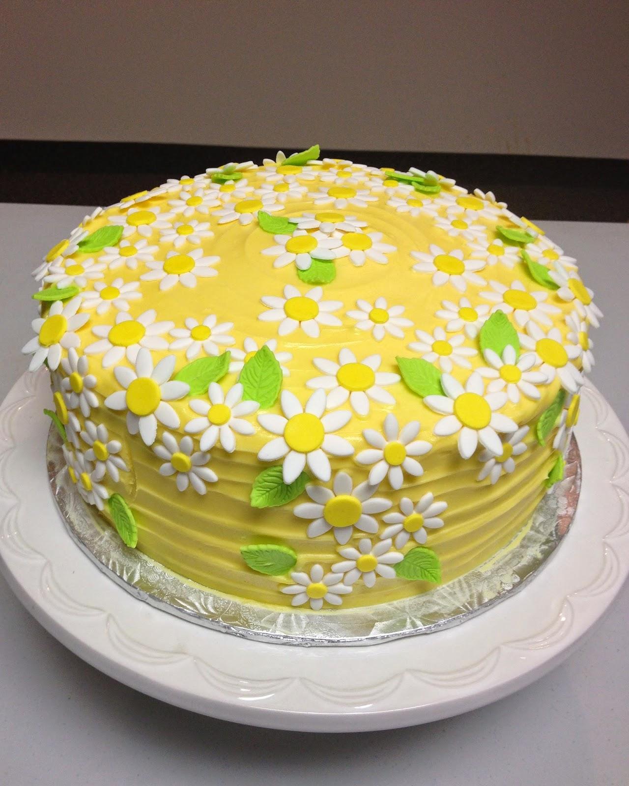 Daisy Cake for Grandma J