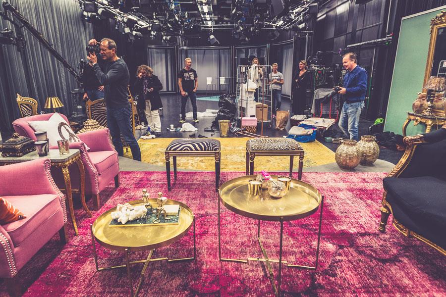 Min studio inredning i tv4.
