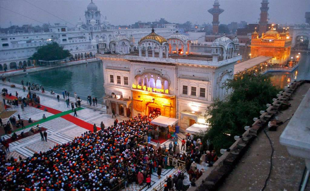 Golden Temple, also known as Harmandir Sahib and Swarn Mandir.