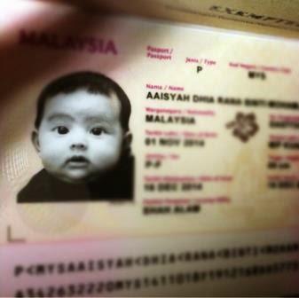 Che Ta Sedia Passport Bayinya Untuk Ke Paris & London, info, terkini, hiburan, sensasi, Che Ta, zain saidin, rozita che wan, Aaishah Dhia Rana