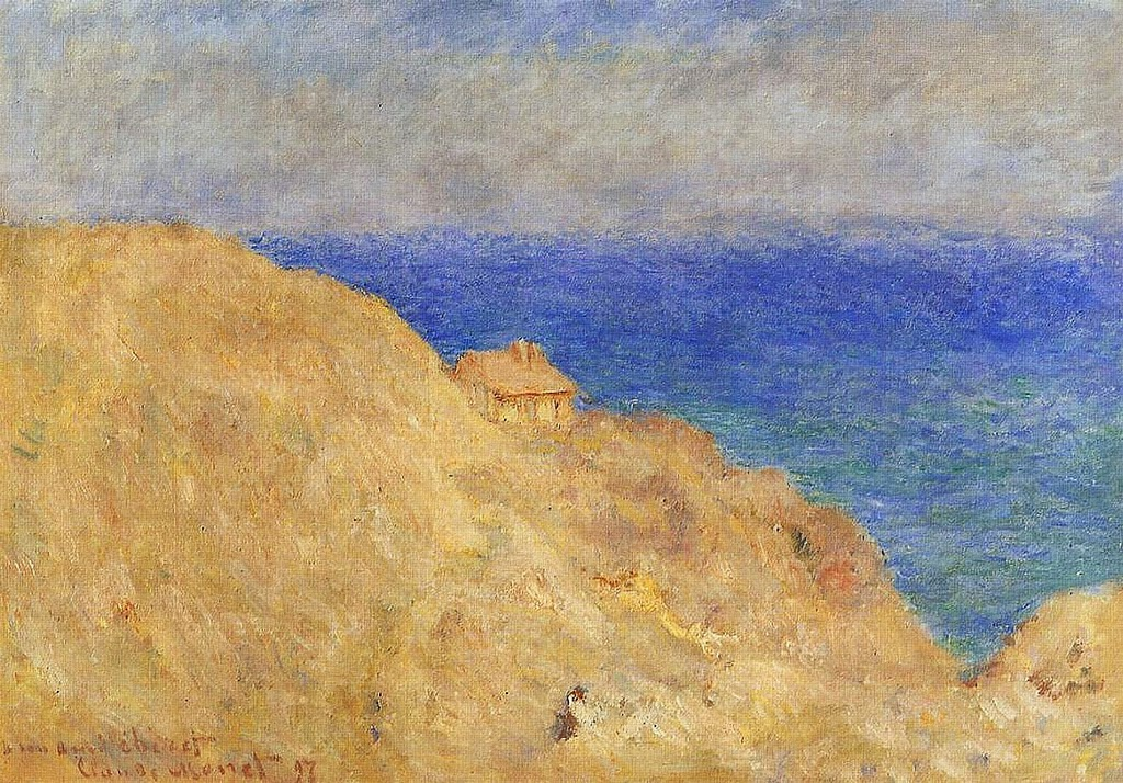 La Cabane sur la falaise de Varengeville (1896)