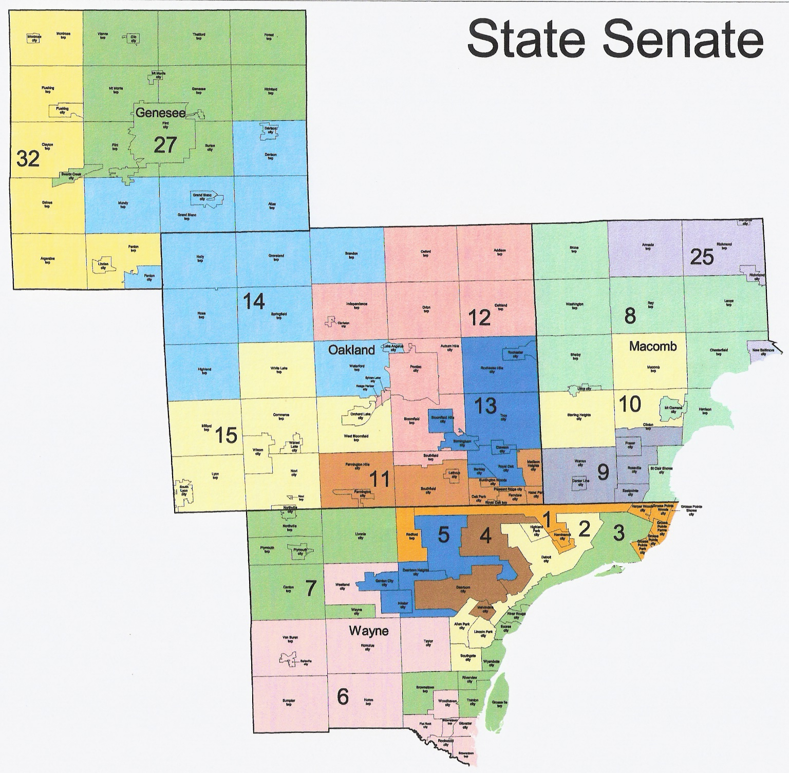 The Western Right Michigan Redistricting Official Republican State