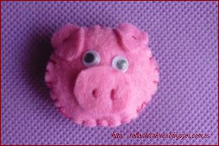 Cerdo fieltro