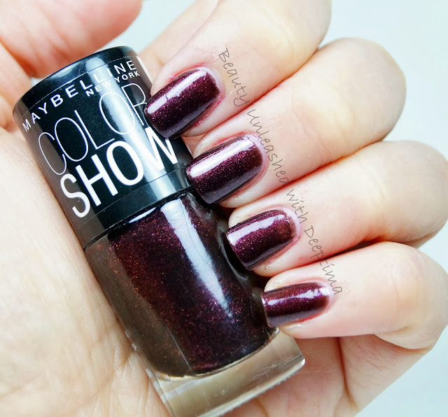 Deep Wine Nail Polish: Beauty And Lifestyle Blog: Maybelline