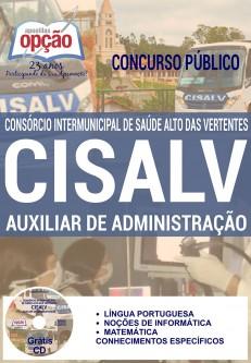 Apostila CISALV 2017 Auxiliar de Administração