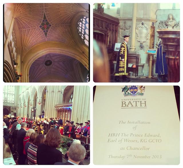 Prince Edward - University of Bath Chancellors Installation