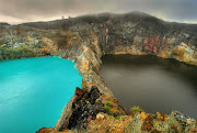 The Lakes of Mount Kelimutu, Indonesia are considered to be the resting .
