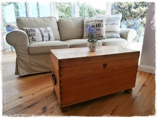 Truhe Sofa