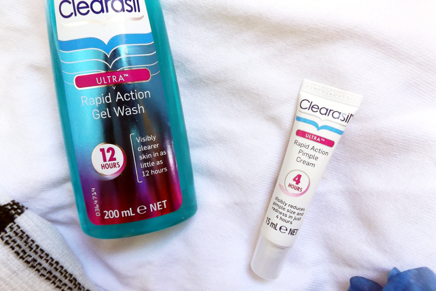 clearasil rapid action gel wash rapid action pimple cream review
