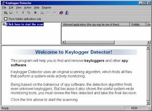 Detecting Keylogger