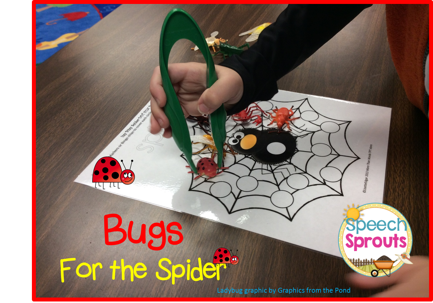 Spider Activities in Speech therapy www.speechsproutstherapy.com