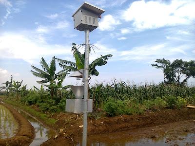 Lampu Perangkap(Light trap) di Desa Kedungsegog Kecamatan Tulis