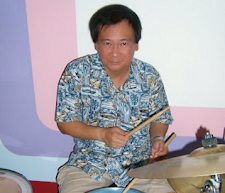 ABOVE VIDEO: BUDDY RICH. BELOW IMAGE: GUESS WHO THESE SINGAPORE DRUMMERS ARE?
