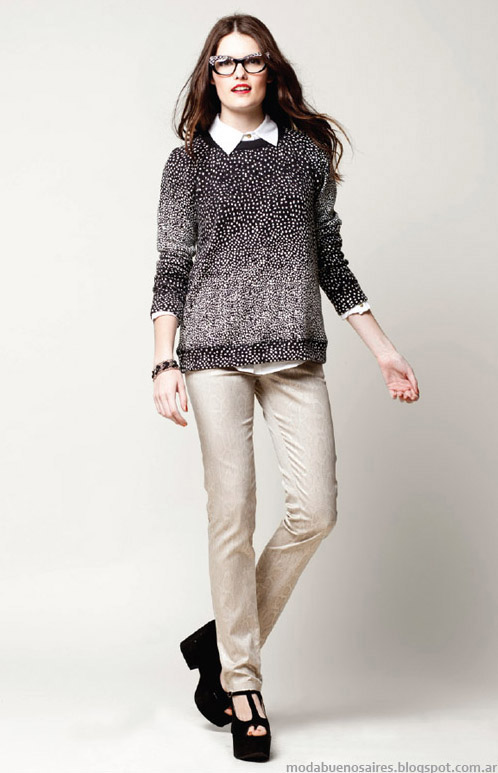 Looks invierno 2013 moda Asterisco