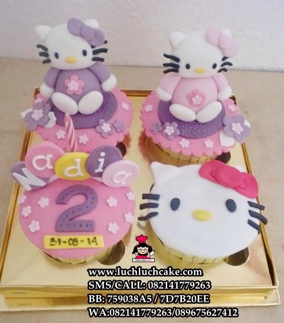 Cupcake Hello Kitty Daerah Surabaya - Sidoarjo