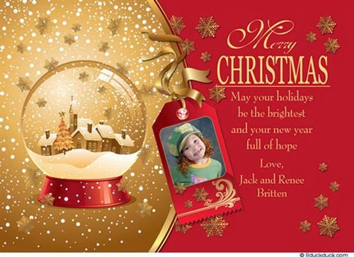 Unique Christmas Greetings Cards With Message