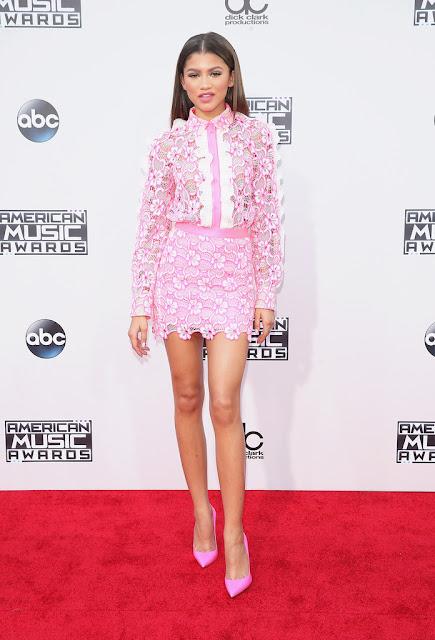 Actress, Singer, Model @ Zendaya Coleman - American Music Awards in LA