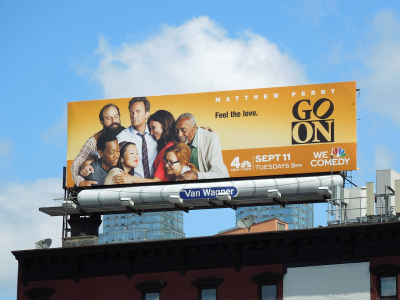 Go On billboard NYC