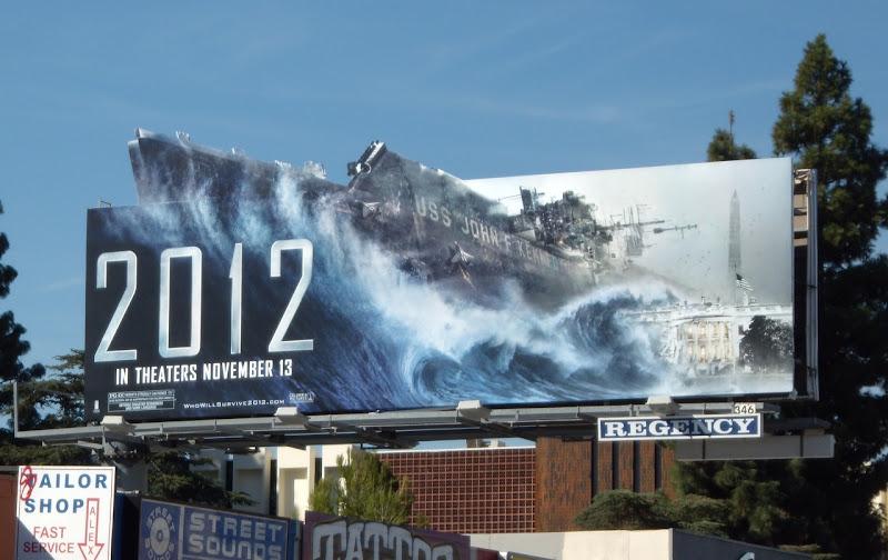 2012 JFK aircraft carrier billboard