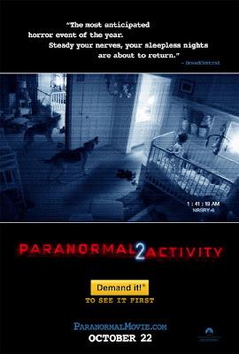 paranormal activity 2 poster Actividad Paranormal 2 (2010) Español Latino