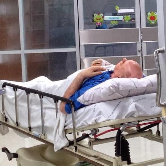แคทรียา อิงลิช พ่อป่วยมะเร็งสมอง