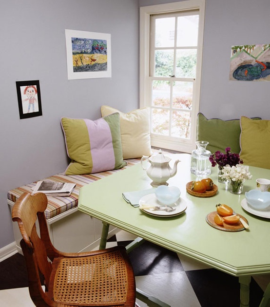 breakfast dining nook