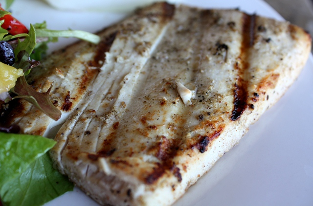 Grilled Ono recipe by Barefeet In The Kitchen