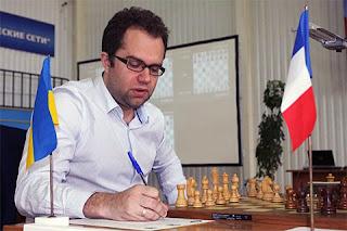 Pavel Eljanov qui a remporté l'édition 2013 et défend son titre