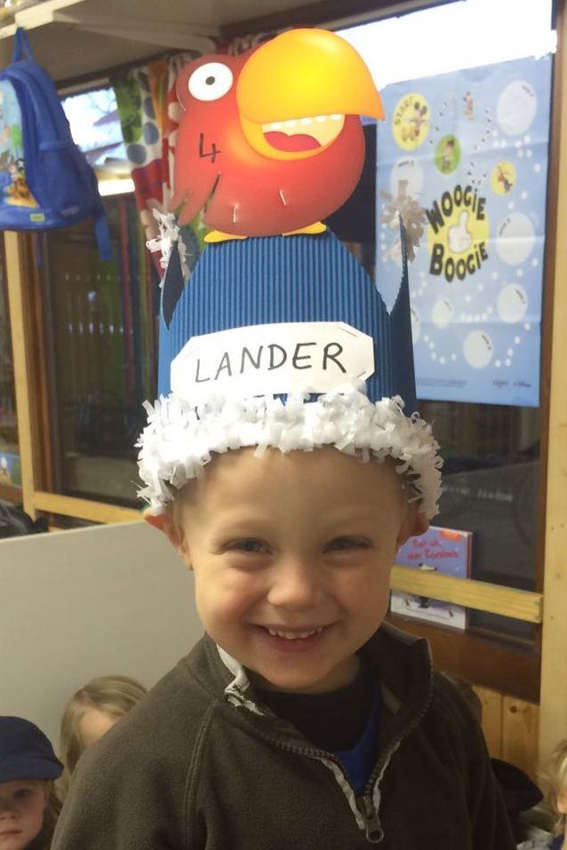 Lander is 4!