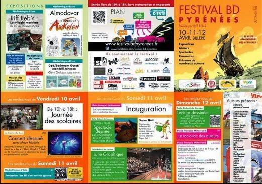 Billere decouverte une ville qui bouge festival bd for Domon philippe sa