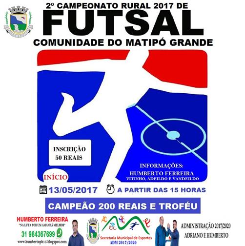 Taça Matipó Grande 2017