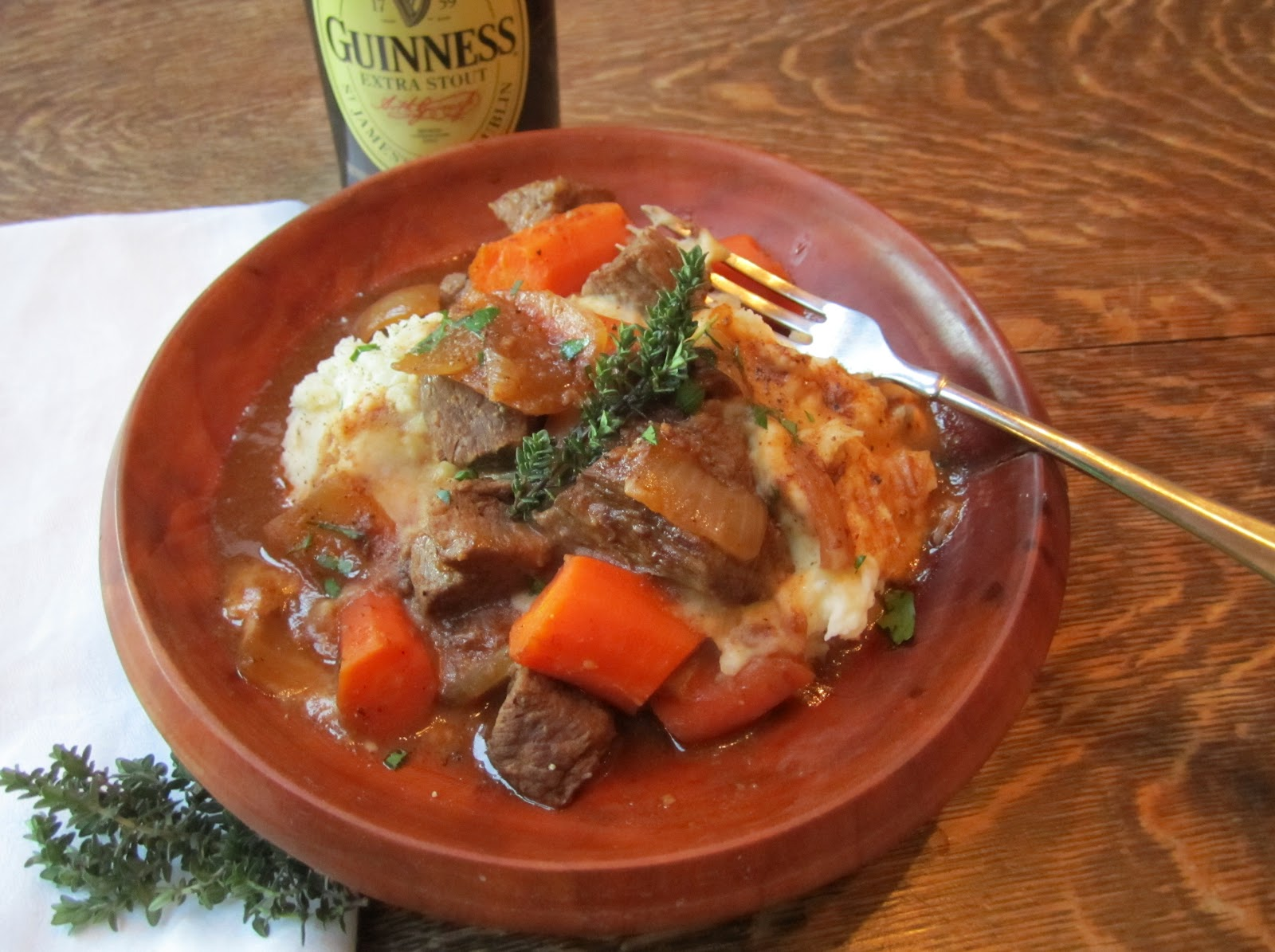 The Irish Mother: Irish Beef and Guinness Stew