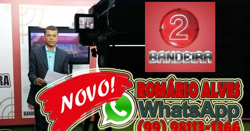 BANDEIRA 2 COM ROMÁRIO ALVES