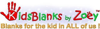 Kids Blanks by Zoey $50 Gift Certificate Giveaway (US & Canada 12/15)