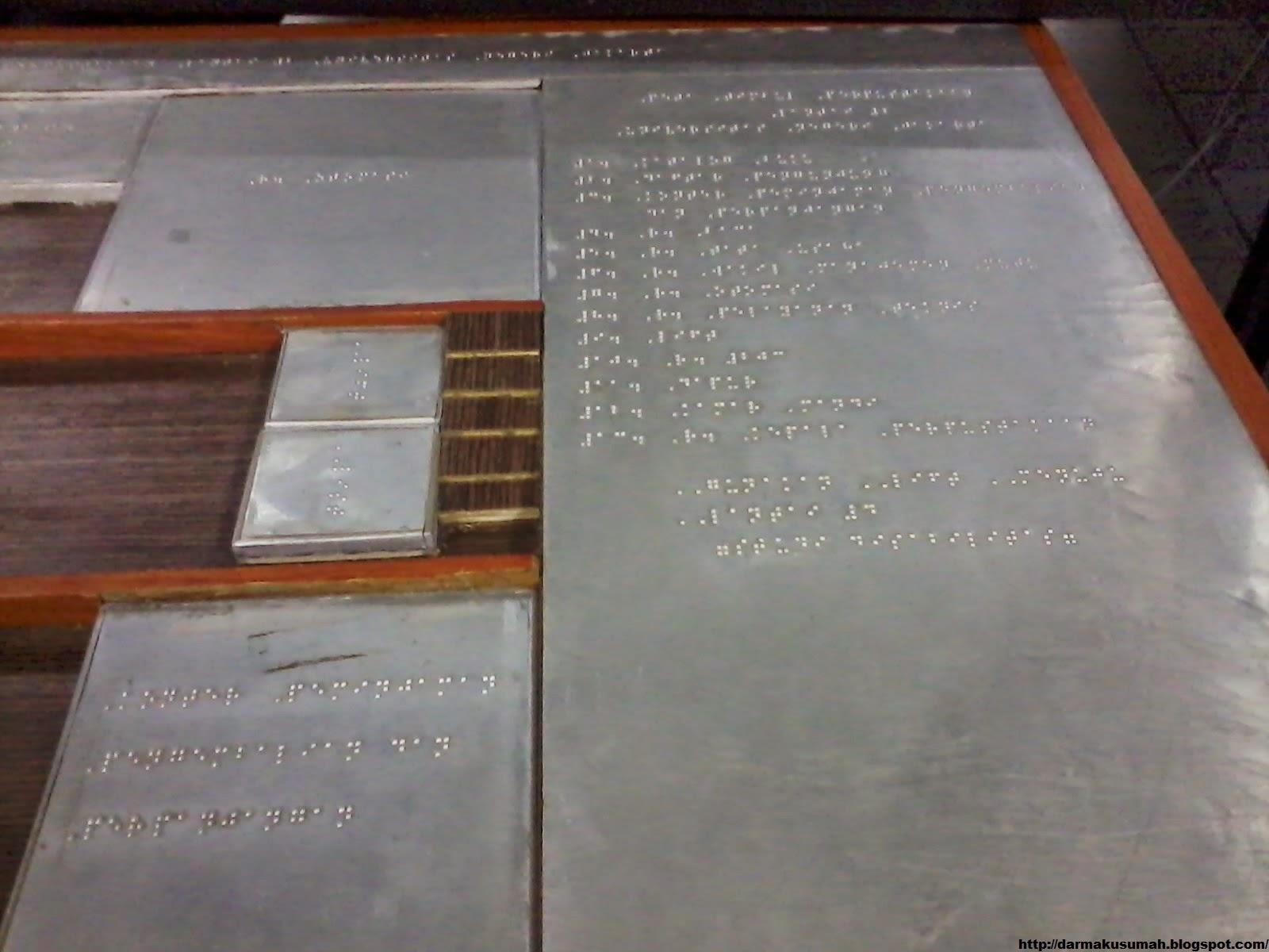 Peta Timbum Perpustakaan UNJ tampak atas