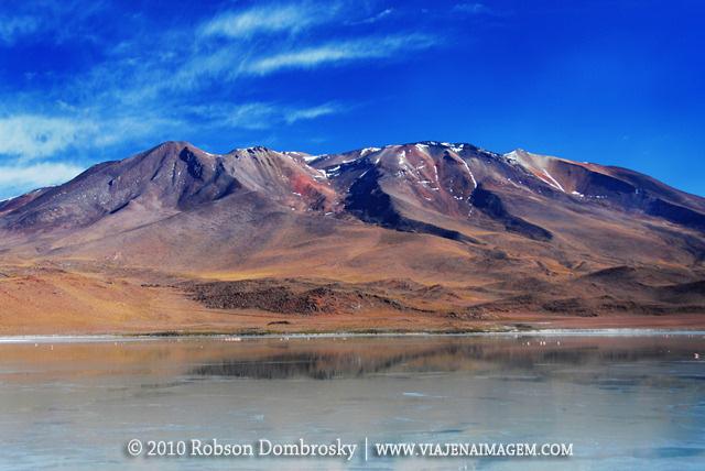 montanhas no deserto de lipez na bolivia