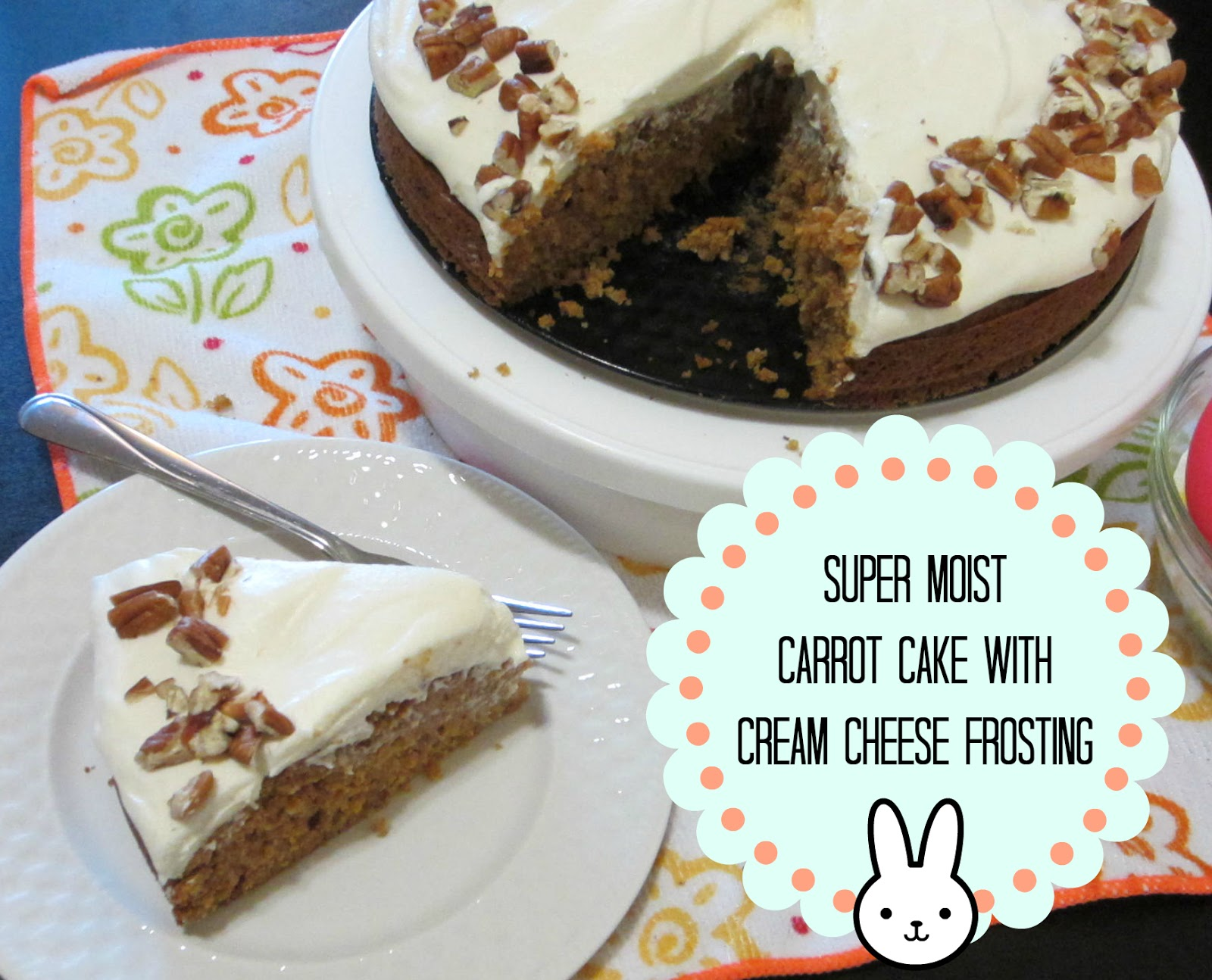 carrot cake with cream cheese frosting cheese frosting super moist ...
