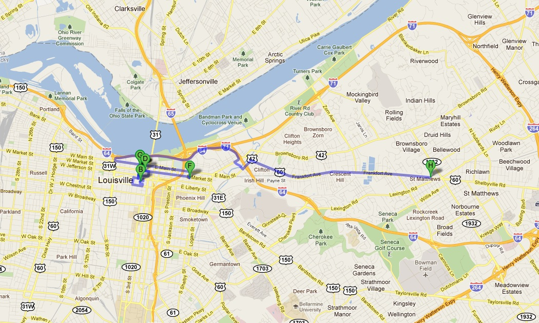 Louisville Co City Limits Map